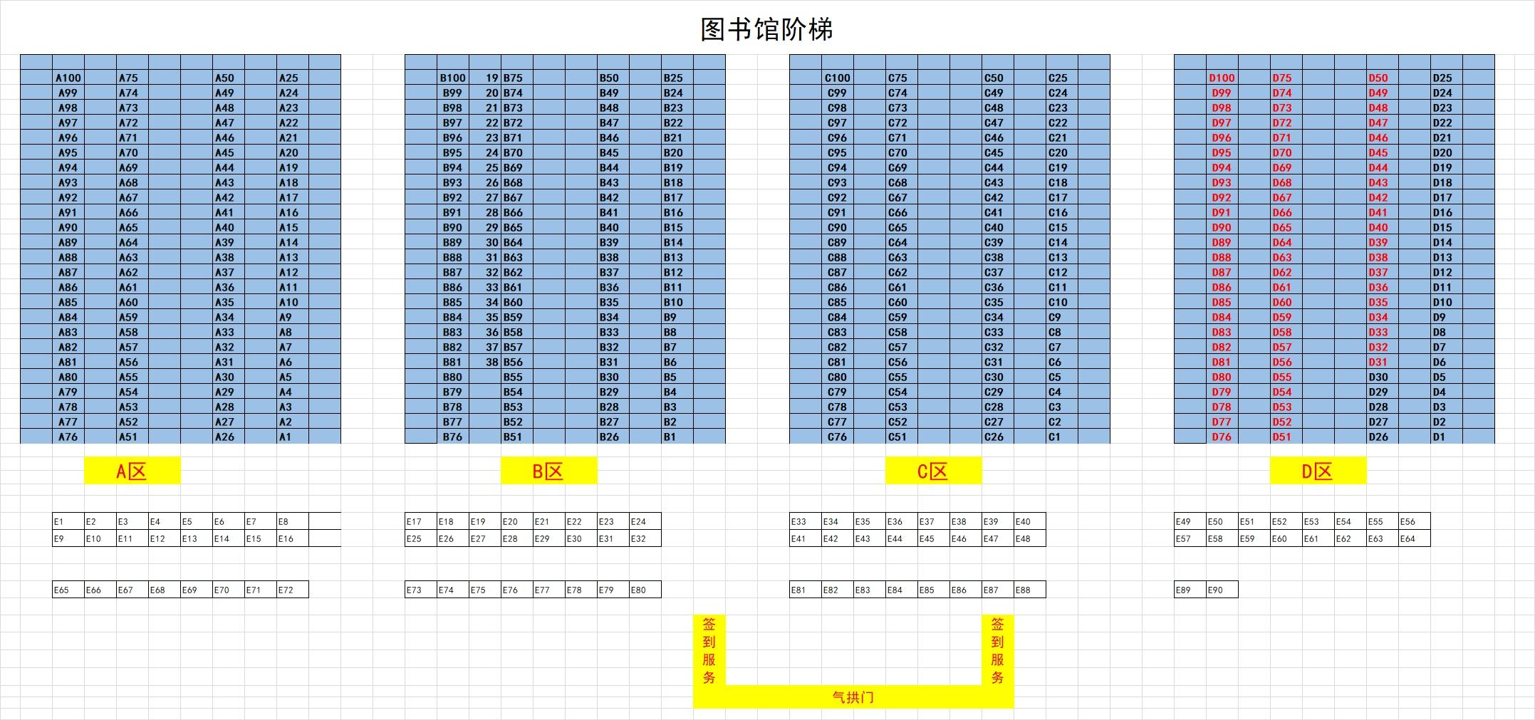 河源职业技术学院2020届毕业生校园招聘会 - 展位图