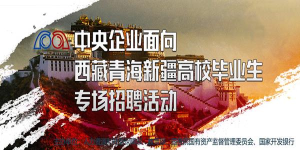 中央企业面向西藏青海新疆高校毕业生专场招聘活动