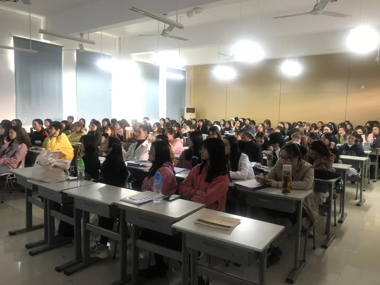 【音乐舞蹈学院】音乐舞蹈学院召开专题企业宣讲会 ——米娜凯威教育有限公司