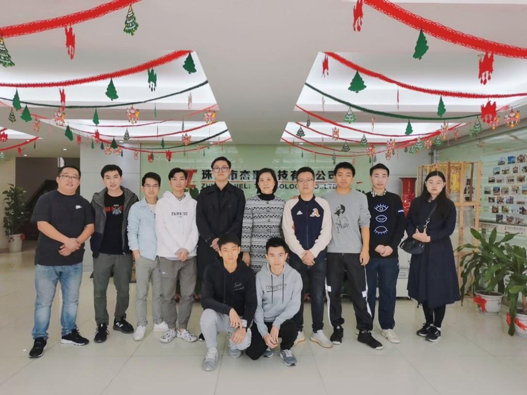 【电子信息工程】电子信息工程学院教师赴企业走访2016级学生实习情况