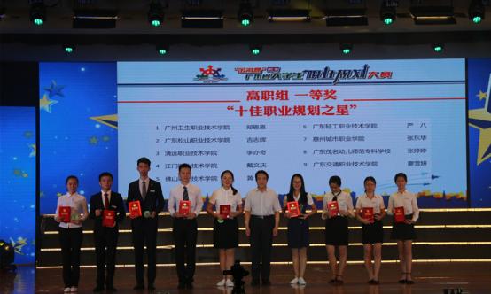 我校学子获第七届广东省大学生职业规划大赛一等奖